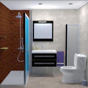 Diseño baño completo
