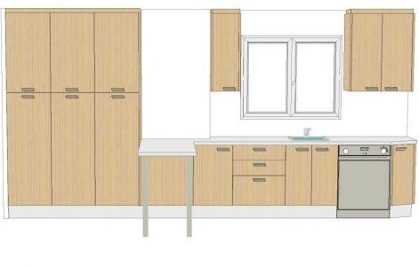 Diseño cocina con barra