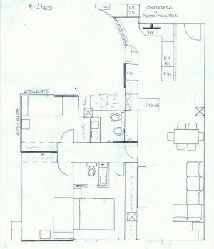 Plano vivienda completa
