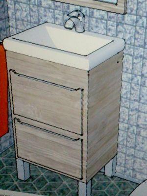 Diseño mueble de baño