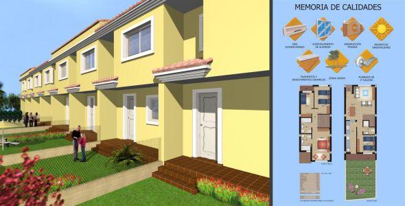 Diseño interior y exterior adosados