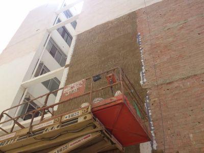 Rehabilitación lateral fachada