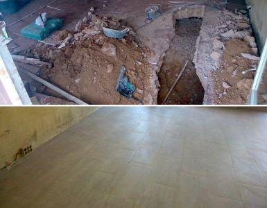 Reparación y saneamiento de cimentación