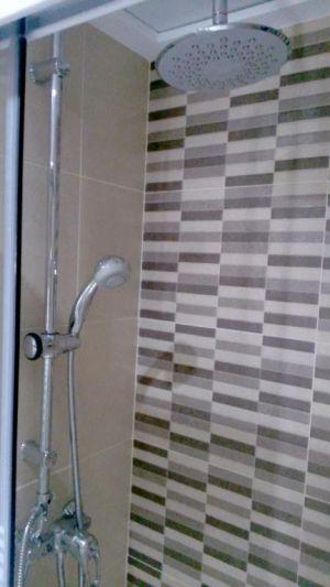 Paño decorativo para ducha