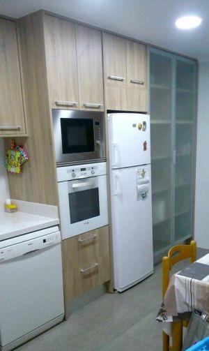 Mobiliario imitación madera