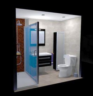 Diseño 3D baño