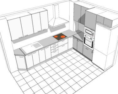 Diseño 3D cocina