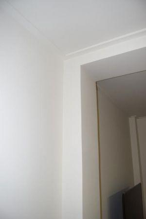 Detalles de calidades en molduras y paredes